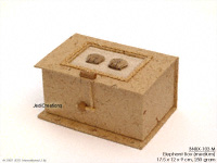 Banana Paper Boxes BNBX-103 Medium: Elephant Box, manufacturer exports, wholesale directly from Thailand, JediCreations