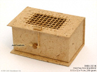 Banana Paper Boxes BNBX-107 M: Grid Top Gift Box, manufacturer exports, wholesale directly from Thailand, JediCreations