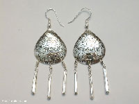 Wholesale fashion accessories from Thailand: Inexpensive Ethnic Style Earrings - FANSER-101
