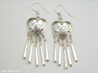 Wholesale fashion accessories from Thailand: Inexpensive Ethnic Style Earrings - FANSER-103