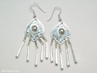 Wholesale fashion accessories from Thailand: Inexpensive Ethnic Style Earrings - FANSER-107