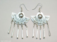 Wholesale fashion accessories from Thailand: Inexpensive Ethnic Style Earrings - FANSER-108