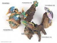 FOONDRAG - Foon dragons on wooden branches and roots - Manufacturer artisans, wholesale direct from Thailand