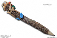 FOONTWIP-Frog-02 wholesale twig pencil; manufacturer Thailand, exporter