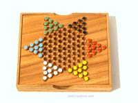 Details: Chinese Checkers: wholesale wooden games, manufacturer exports, Thailand