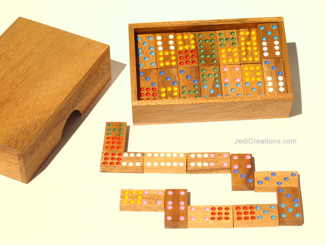 Wooden Board Games:  Wholesale Crazy Four (small, manufacturer exports directly from Thailand - Dominoes