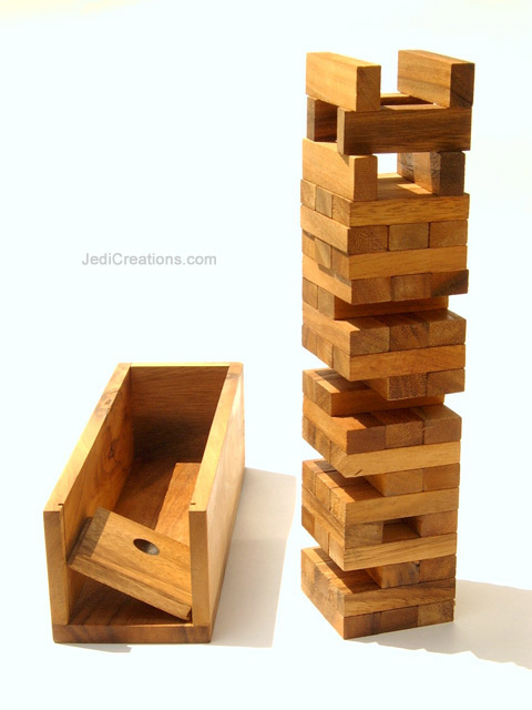 Educational Games & Puzzles: Wholesale Jenga, wholesale directly from Thailand - JENGA-L