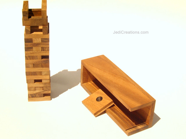 Educational Games & Puzzles: Jenga (small), manufacturer exports directly from Thailand - JENGA-S