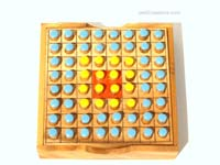 Details: Othello-Reversi strategy game: wholesale wooden games, manufacturer exports, Thailand