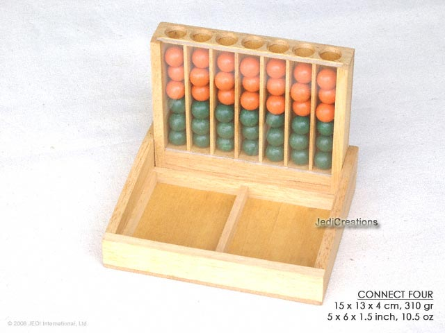 Connect Four: wholesale wooden games, manufacturer exports, Thailand