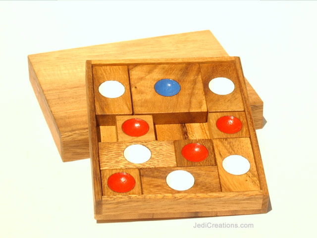 Educational Games & Puzzles: Khun Phaen (large), wholesale directly from Thailand - KHUN-PHAEN-L