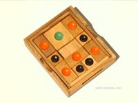 Details: Khun Phaen (small): wholesale wooden games, manufacturer exports, Thailand