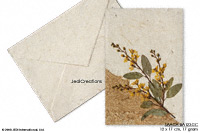 Wholesale Botanical Art Greeting Cards, Handmade with Banana Paper