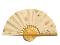 Wedding Fans and Hand Held Bamboo Folding Fans - Manufacturer direct below wholesale, from Thailand
