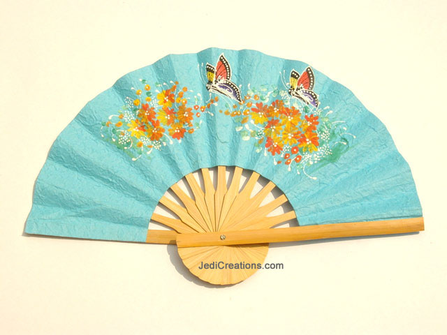 paper hand fans Machine-made paper fans, introduced in the 19th century, are smoother, with an even texture even today celluloid hand fans hand fan productions, 2001.