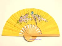 FWholesale hand held fan, folding fan in artificial silk, manufacturer direct - FANHA-301-10