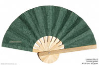 Hunter green solid colors wholesale hand fans, manufacturer wholesale, Thailand direct.
