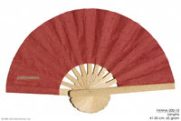 Sangria red solid colors wholesale hand fans, manufacturer wholesale, Thailand direct.