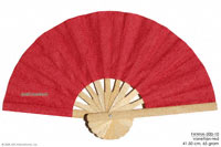 Vanetian red solid colors wholesale hand fans, manufacturer wholesale, Thailand direct.
