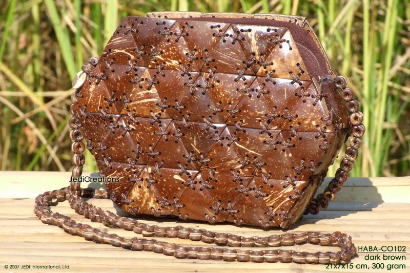 Wholesale Coconut Shell Handbags Manufacturer Exporter