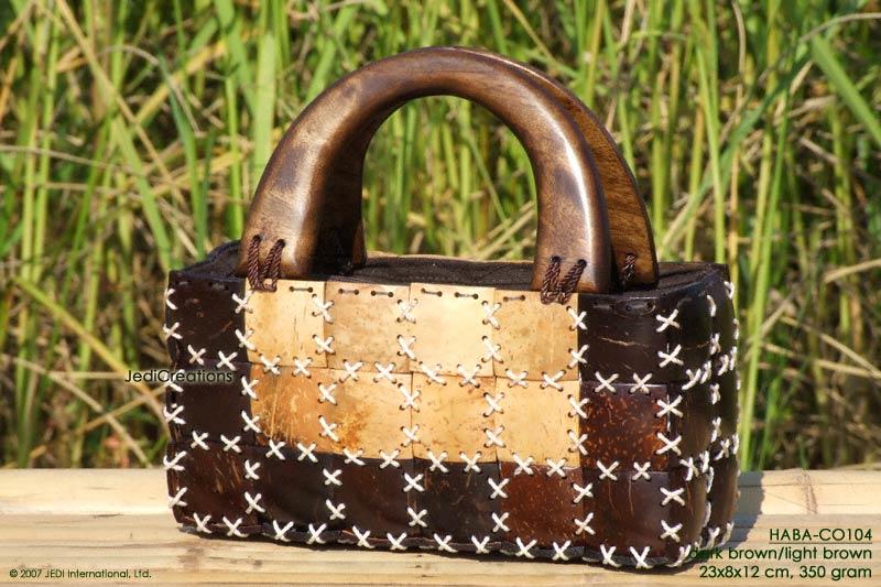 Coconut Shell Handbag