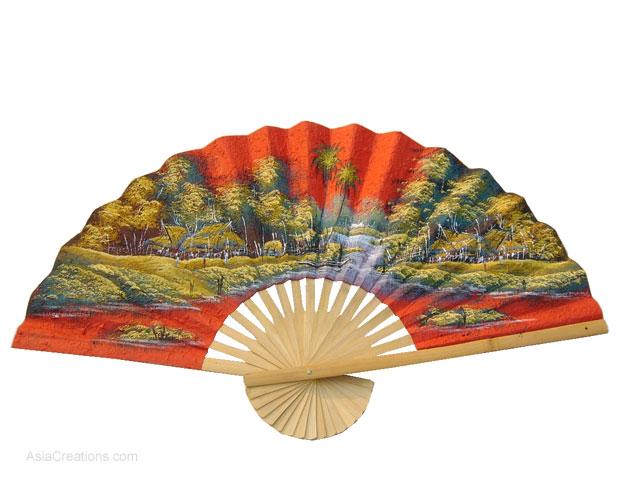 Asian wall fan
