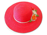 HATS-S100 - Ladies & Gents Sisal Hats, Sun Hats - manufacturer artisans, wholesale directly from Thailand