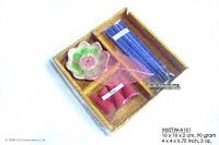 INSETW-A101 Incense Set; manufacturer, exporter, wholesale directly from Thailand