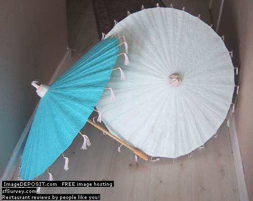 JediCreations parasols for sale in after successful use
