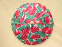 PARASA-221 Batik Style with tassels - Wholesale Paper Parasols - manufacturer, exporter directly from Thailand, JediCreations