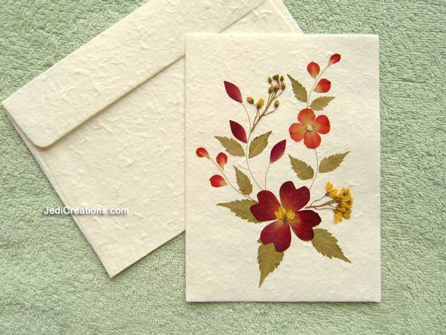Wholesale greeting cards with pressed flowers jedicreations for Image craft greeting cards