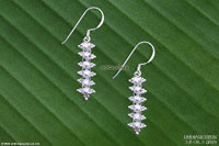 Wholesale silver earrings, manufacturer artisans, wholesale direct from Thailand