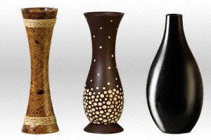 Wholesale Mango Wood Candles and Candle Holders - also Customized Sizes and Shapes
