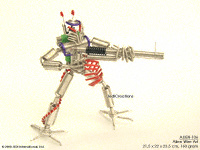 ALIEN-106  Mega Gun - Wire Art Aliens Wholesale, manufacturer exports