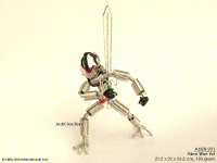ALIEN-201 Straight Sword - Wire Art Aliens Wholesale, manufacturer exports