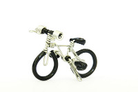 Wholesale Mini Wire Art Mountain Bikes - Black