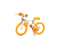 Wholesale Mini Wire Art Mountain Bikes - Orange