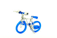 Wholesale Mini Wire Art Mountain Bikes - Royal Blue