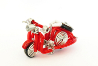 Wholesale Mini Wire Art Scooters - Red