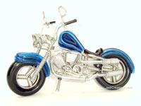 Wire Art Motorcycle MOTO-A101 - Wholesale wire art motorcycles - Exporter, manufacturer, directly from Thailand, JediCreations