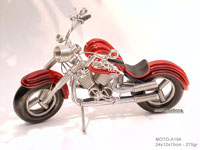 Wire Art Motorcycle MOTO-A104 - Wholesale wire art motorcycles - Exporter, manufacturer, directly from Thailand, JediCreations
