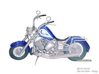 Wire Art Motorcycle MOTO-B102 - Wholesale wire art motorbikes - Exporter, manufacturer, directly from Thailand, JediCreations