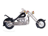 Wire Art Motorcycle MOTO-C102 - Wholesale wire art motorcycles - Exporter, manufacturer, directly from Thailand, JediCreations