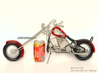Wire Art Motorcycle MOTO-D102 - Wholesale wire art motorcycles - Exporter, manufacturer, directly from Thailand, JediCreations