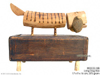 WOCO-108 - Long Dog Box - innovative wholesale wood, coconut, manufacturer exports JediCreations